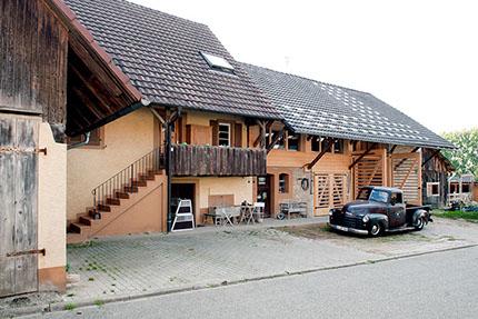 Haus In Scheune